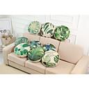 preiswerte Kissen Sets-9 Stück Leinen Kissenbezug, Solide Texture Tropisch Strand Design Akzent dekorativen