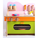 tanie Klocki magnetyczne-Zestawy kuchenne zabawkami Zabawy w odgrywanie ról Drewno Dla dzieci Dla chłopców Dla dziewczynek Zabawki Prezent 1 pcs