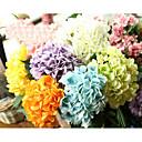 voordelige Nep Bloemen-Kunstbloemen 5 Tak Moderne Style Hortensia's Bloemen voor op tafel