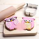 olcso Sütőeszközök-Bakeware eszközök Rozsdamentes acél Kenyér / Keksz / Csokoládé Állat sütőformát 1db