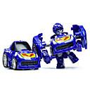 cheap Robots-Robot Toy Car Display Model Building Blocks 3D Puzzles Educational Toy 1pcs Car Machine Robot Transformable Boys' Unisex Toy Gift