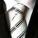 abordables Lámparas de Noche-Hombre Poliéster Corbata - Fiesta Trabajo Básico A Rayas
