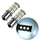 baratos Luzes de Seta para Veículos-2pcs 1156 Carro Lâmpadas 2.5W SMD 5050 195lm Iluminação interior
