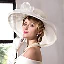 זול חיישנים-טול פשתן אורגנזה כובעים 1 חתונה אירוע מיוחד קזו'אל משרד קריירה כיסוי ראש
