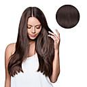 זול תוספות שיער הדבקה-נתפס עם קליפס תוספות שיער אדם ישר תוספות שיער משיער אנושי שיער אנושי