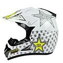 billige Deler til motorsykkel og ATV-Off-road motorsykkel racing hjelm med gylden stjerne mønster full ansikt demping slitesterk motorsport hjelm