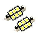 hesapli LED Ampuller-ZIQIAO 2pcs Araba Ampul SMD 5050 İç Işıklar