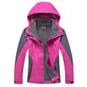 preiswerte Softshell, Fleece & Wanderjacken-Damen 3-in-1 Jacken Außen Winter Wasserdicht warm halten Windundurchlässig Fleece Innenfutter Regendicht tragbar Atmungsaktiv Schneefest