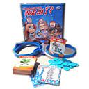 זול משחקי לוח-משחקי לוח צעצועים מעגלי פלסטי חתיכות בגדי ריקוד ילדים יוניסקס מתנות