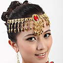 cheap Dance Accessories-Belly Dance Headpieces Women's Performance Metal Headwear