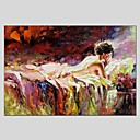 cheap Oil Paintings-Print Stretched Canvas - Nude Classic / Modern