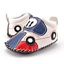 preiswerte Baby-Schuhe-Jungen Schuhe Kunststoff Herbst Lauflern / Stiefeletten Sneakers Tierdruck / Klettverschluss für Kinder Rot / Blau / Party & Festivität