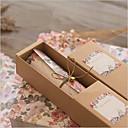 povoljno Pozivnice za vjenčanje-Pomaknite Vjenčanje Pozivnice Others / Pozivnice Klasičan Materijal / 100% djevičansko pulpe / Papir visoke kvalitete Cvijet