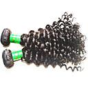 رخيصةأون باروكات لاسيه شعر طبيعي-شعر مستعار طبيعي موجات الشعر الطبيعي الموج العميق شعر هندي 300 g