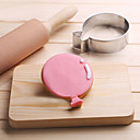 cheap Cookie Tools-Balloon Cookies Cutter Stainless Steel Biscuit Cake Mold Kitchen Baking Tools