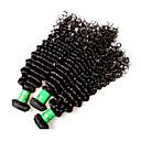 رخيصةأون شعر انسان-شعر ريمي موجات الشعر الطبيعي مجعد شعر هندي 300 g