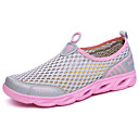 cheap Men's Bracelets-Women's Shoes Tulle Spring / Summer Light Soles Athletic Shoes Water Shoes Flat Heel Gray / Purple / Fuchsia