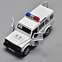 cheap Dance Accessories-Toy Cars Toys Model Car Police car Toys Metal Alloy Chrome Pieces Children's Gift