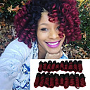 cheap Hair Braids-synthetic african curls curlkalon hair 20inch kenzie curls ombre color kanekalon crochet braiding hair extension bouncy curly 20roots pack
