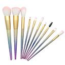 billige makeup børste sæt-10pcs Make-up pensler Professionel Brush Sets / Rougebørste / Øjenskyggebørste Syntetisk Hår Plastik