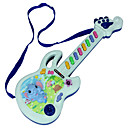 cheap Toy Instruments-Guitar Educational Toy Violin Guitar Rectangle Plastics Lovely Toy Musical Instrument Kid's Unisex Gift