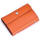 cheap Wallets-Women's Bags Cowhide Card & ID Holder for Christmas / Wedding / Birthday Fuchsia / Coffee / Brown