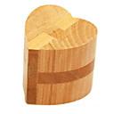 זול פאזלים מעץ-אבני בניין פאזלים מעץ אתגרי חשיבה IQ קונג מינג Lock לב קלאסי מבחן איקיו בנים צעצועים מתנות