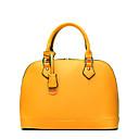 baratos High School Bags-Mulheres Bolsas Pele / Pele de Carneiro Bolsa de Ombro Suave / Corrente de Metal / Sem costura Fúcsia / Cinzento Claro / Vinho