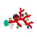 baratos Broches e Pins-Mulheres Broches - Amigos lateralmente, Euramerican Broche Vermelho Para Casamento / Festa / Festa / Eventos