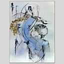 billige Nude Art-Trykk Stretched Canvas - Abstrakt Moderne