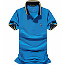 cheap HDMI Cables-Men's Active Plus Size Cotton Polo - Solid Colored Print