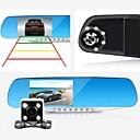 رخيصةأون فيديو السيارة-d760 1080p / Full HD 1920 x 1080 HD سائق سيارة 140 درجة / 110 درجة زاوية واسعة 4.3 بوصة داش كام مع G-Sensor / حالة وقوف السيارات / تسجيل