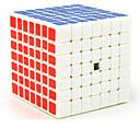 baratos Luzes Pingente-Rubik's Cube MoYu 7*7*7 Cubo Macio de Velocidade Cubos mágicos / Antiestresse / Brinquedo Educativo Cubo Mágico Adesivo Liso Dom Unisexo