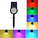 cheap Head Up Display-1pc LED Floodlight / Lawn Lights Waterproof / Solar / Dimmable RGB Outdoor Lighting / Courtyard / Garden