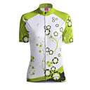 cheap Men's Accessories-GETMOVING Women's Short Sleeve Cycling Jersey - Green Bike Jersey, Breathable Coolmax®