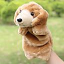 baratos Marionetes-Fantoches de dedo Fantoches Fantoche Cachorros Fofinho Animais Adorável Tecido Felpudo Felpudo Crianças Para Meninas Brinquedos Dom 1 pcs