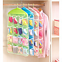 cheap Clothing Storage-Plastic Normal Multifunction Home Organization, 1set Storage Baskets Hangers Storage Bags