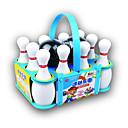 baratos Brinquedos de Pesca-Bolas Brinquedos de Boliche Jogos de boliche Portátil Plásticos Para Meninos Dom