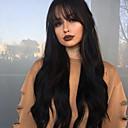 olcso Szintetikus parókák-Emberi haj Csipke Paróka Egyenes Paróka 130% Haj denzitás Természetes hajszálvonal Afro-amerikai paróka 100% kézi csomózású Női Rövid Közepes Hosszú Emberi hajból készült parókák