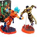 זול דמויות אקשן של אנימה-נתוני פעילות אנימה קיבל השראה מ Dragon Ball Son Goku PVC 12 cm CM צעצועי דגם בובת צעצוע