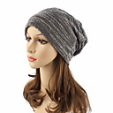 זול ארנקים-כובע צמר / כובע עם שוליים רחבים - אחיד כותנה פעיל / סגנון רחוב בגדי ריקוד נשים / חמוד / סתיו / חורף