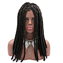 cheap Bottle Favors-Synthetic Wig Straight Synthetic Hair African American Wig / Braided Wig / African Braids Black / Brown Wig Women's Long Capless