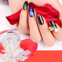 cheap Nail Stickers-Glitter Powder Sequins 12 Colors nail art Manicure Pedicure Classic / Shiny / Glamour Daily