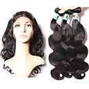cheap Human Hair Wigs-Indian Hair Body Wave Human Hair Hair Weft with Closure Human Hair Weaves Soft Human Hair Extensions
