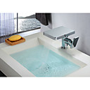 cheap LED Filament Bulbs-Bathroom Sink Faucet - Waterfall Chrome Centerset Single Handle One Hole