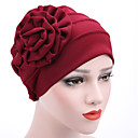 cheap Synthetic Capless Wigs-Women's Hat / Flower Cotton Floppy Hat - Patchwork Mixed Color / Summer