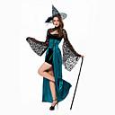 tanie Kostiumy dla Dorosłych-Czarownica Kostiumy Cosplay Damskie Halloween Festiwal/Święto Stroje Niebieski