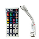 cheap Light Switches-Mini 24 keys RGB IR Remote Controller for 3528 or 5050 RGB LED Strips Small RGB Controller Free Shipping