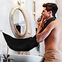 abordables Salud durante el viaje-delantal barba negra delantal de pelo afeitado delantal para hombre impermeable paño floral hogar limpieza protector