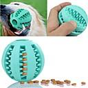 billige Hundeleker-Leker til tannfrembrudd for katter Leker til tannfrembrudd for hunder Lett installasjon Fôrautomat Elastisk Holdbar Fotball Moro Gummi Til